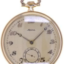 Alpina Mans Pocket Watch Art Deco