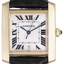 Cartier Tank Francaise 18k Yellow Gold Men's Automatic...