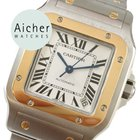Cartier Like New Santos Automatic XL Galbee Men´s Gold 18kt