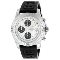 Breitling Colt Automatic Chronograph Stratus Silver Dial Black...