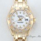 Rolex Pearlmaster Datejust Gelbgold 750 Diamanten 29mm Automatik