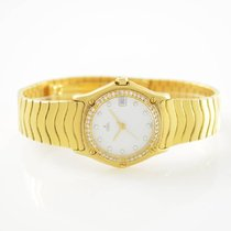 Ebel Ladies Classic Wave Diamonds