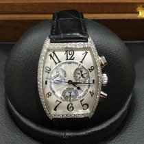 프랭크 뮬러 (Franck Muller) Cintree Curvex Chronograph Diamond 2852...