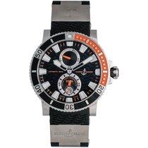 Ulysse Nardin Maxi Marine Diver Titanium Men's Watch 263-90-3/92