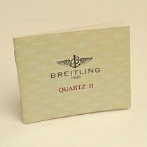 Breitling Quartz II Manual Info Booklet