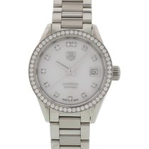 TAG Heuer Ladies Tag Heuer Carrera WAR2415.BA0770 W/ Diamonds