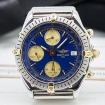 Breitling B13048 Chronomat Blue Dial SS / 18K (24582)