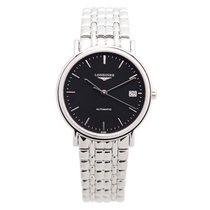 Longines Lyre Stainless Steel Black Automatic L4.821.4.52.6