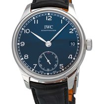 IWC Portuguese Hand Wound Eight Days Men's Watch IW510202