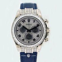 Rolex 116599TBR Daytona White Gold Diamond Bezel