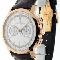 Vacheron Constantin Patrimony Chronograph 18k Rose Gold Watch...