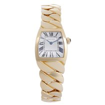 "Cartier "" La Dona"" 18k Yellow Gold Ladies Watch"