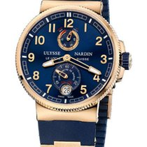 Ulysse Nardin Marine Chronometer Manufacture 18k Rose Gold...