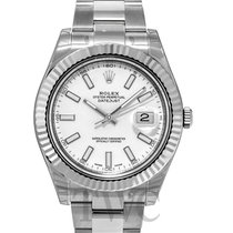Rolex Datejust II White Dial - 116334