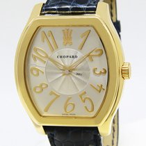 Chopard The Prince's Foundation 18k Yellow Gold Silver Dial...