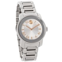 Movado Bold Series Ladies Silver Dial Swiss Quartz Watch 3600244