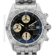 Breitling stainless steel Cockpit Chronograph