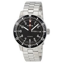 Fortis Cosmonauts Black Dial Automatic Men's Watch