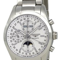 Longines Conquest Classic Automatic Chrono Moonphase Mens...