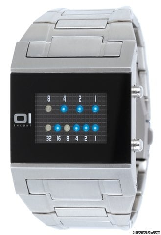 The One Binary Kerala Trance men´s watch blue