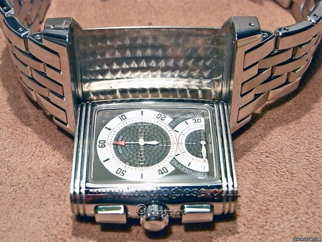 Jaeger-LeCoultre Reverso Grand Sport Chronographe Retrograde Steel