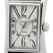 Graham Oxford Stainless Steel Silver Dial 26mm