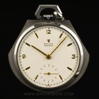 Rolex S/S Very Rare Open Face Pocket Dress Watch C1920's