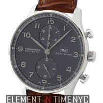 IWC Portuguese Collection Portuguese Chronograph 18k White...