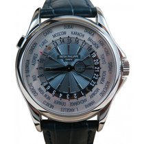 Patek Philippe Complications 5130P 39.5mm White World Time...