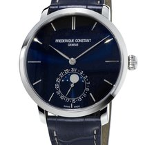 Frederique Constant Men's Slimline Moonphase Watch