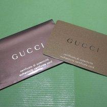 Gucci vintage warranty card newoldstock