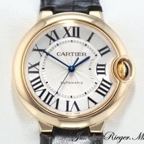 Cartier BALLON BLEU MEDIUM 36 mm GELBGOLD 750 AUTOMATIK W6900356