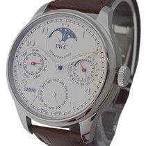 IWC Portuguese Perpetual Calendar Boutique Edition in Steel