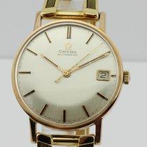 Omega Vintage Automatic 18K Gold Unisex