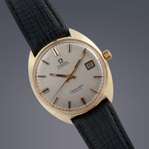Omega Seamaster Cosmic gold plated automatic