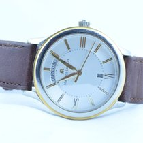 Maurice Lacroix Herren Uhr Les Classiques Quartz Stahl/gold...