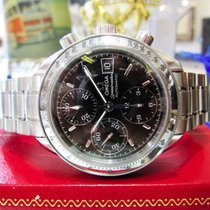 Omega Speedmaster Automatic Chronograph Steel Watch Ref:...