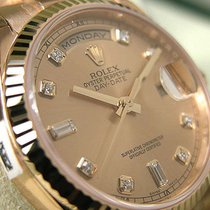 Rolex Day-date President 118238 Mens Yellow Gold 36mm Champagn...
