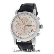 Montblanc Men's  Meisterstuck Star 7067 GMT Chronograph...