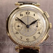 Universal Watch Compur Vintage 1930`s 18kt. Gold 38 Mm...