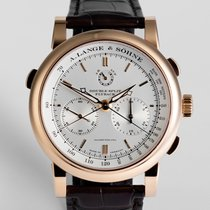 "A. Lange & Söhne Double Split 18ct Rose Gold  ""Complet..."
