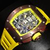 Richard Mille Flyback Chronograph Big Date Skeleton RM-11...