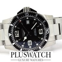 Longines HYDROCONQUEST L36424566 Automatic Black Nuovo - New 41mm