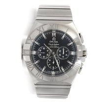 Omega Constellation Double Eagle Chronograph Steel Automatic