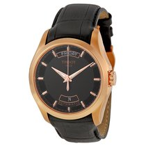 Tissot Couturier Rose Gold Tone Men's Watch