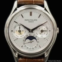 Patek Philippe Ref# 3940G, White Gold, Perpetual Chronograph,...