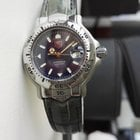 TAG Heuer 6000 Professional Ladies Blue Dial Croc Strap NEW...