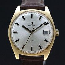 Omega Geneva Silber Dial Kaliber 613 aus 1970 Super Zustand