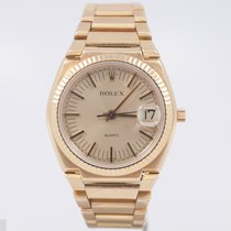 Rolex Texano 5100 No.440 w/boxes & papers 18k c.1974