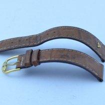 Maurice Lacroix Leder Armband Bracelet 18mm Mit Dornschliesse